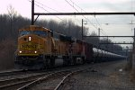 BNSF SD70MAC 9921 leads K041-26